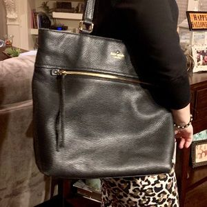 Kate Spade ♠️ Black Pebble Leather Purse